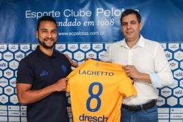 Felipe Guedes é apresentado no Pelotas