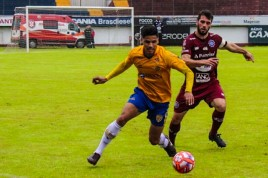 Pelotas vence e arranca com vantagem na semifinal da Copinha