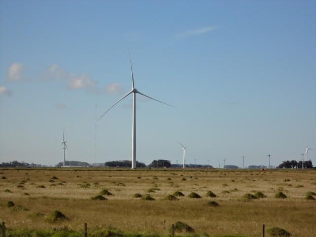 O BNDES aprovou financiamento para o Complexo Eólico de Hermenegildo
