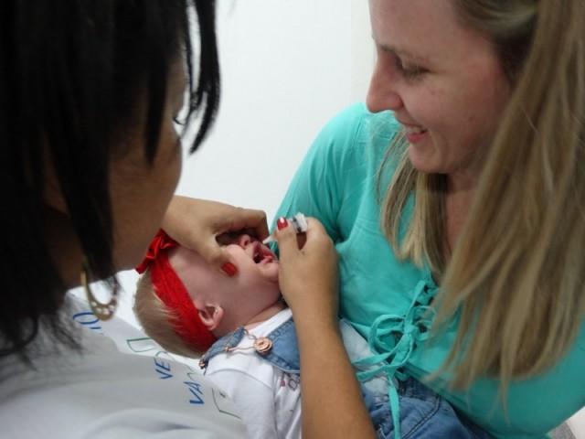 Dia D contra pólio e sarampo foi nesse sábado