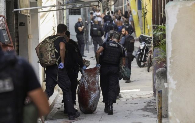 Polícia Civil corrige número de mortos no Jacarezinho/RJ
