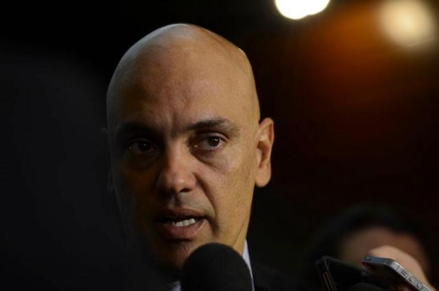 Alexandre de Moraes Após toma posse como ministro do STF