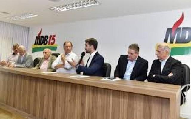 MDB adere ao governo Eduardo Leite.